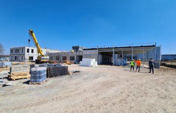 Zmiany na placu budowy
